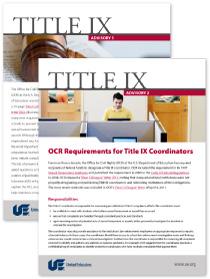 Download UE's Title IX Toolkit
